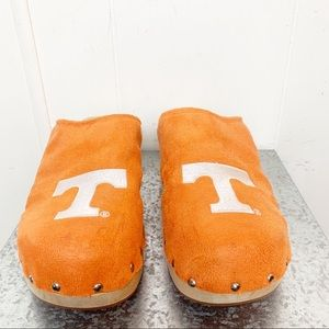 Shoes - Tennessee Volunteers Orange Studded Clogs
